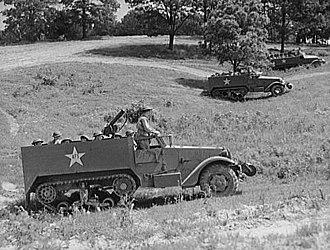 M3 Half-track - Image: Halftrack fort knox 1