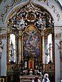 Hall Allerheiligenkirche Innen Hochaltar 2.jpg