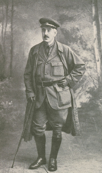 Hamilton Fyfe - Hamilton Fyfe in uniform during World War I.