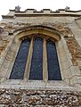 Harlaxton Ss Mary and Peter - exterior South Chancel chapel east window.jpg