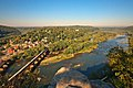 Harpers Ferry & Potomac River Overlook - HDR (21647594852).jpg