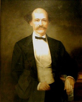 Isham G. Harris - Portrait of Harris by Washington B. Cooper
