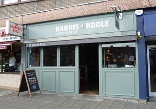 Harris + Hoole British coffeehouse company