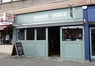 Harris + Hoole - Image: Harris & Hoole coffee shop Southgate