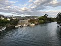 Hashimotogawa River from Tokiwabashi Bridge 2.jpg