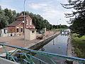 Hauteville (Aisne) canal de la Sambre à l'Oise, écluse 23.JPG