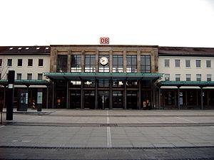 Kaiserslautern - Hauptbahnhof (Main Railway Station)