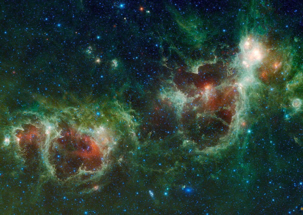 Maffei 1 Galaxy Maffei 2 is The Spiral Galaxy