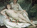 Hector Hanoteau and Gustave Courbet, 1858, Bathers or Two Nude Women.jpg