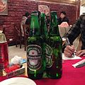 Heineken hits the spot at one of two pizza restaurants in Pyongyang (11234543893).jpg