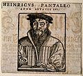 Heinrich Pantaleon. Woodcut. Wellcome V0004444.jpg