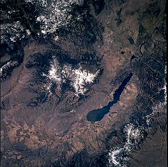 Helena, Montana - 2001 astronaut photography of Helena Montana taken from the International Space Station (ISS)