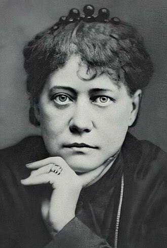 Helena Blavatsky - Blavatsky in 1877