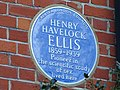 Henry Havelock Ellis plaque.jpg