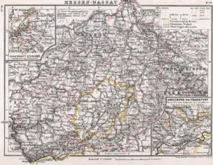 Hesse-Nassau - Hesse-Nassau in 1905