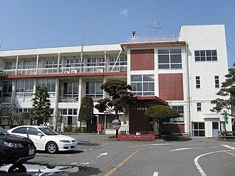 Higashiagatsuma, Gunma - Higashiagatsuma town office