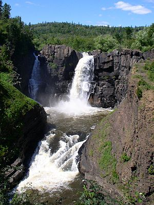 Pigeon River (Minnesota–Ontario) - Falls of the Pigeon River