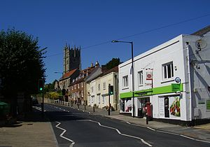 Carisbrooke - Image: High Street, Carisbrooke, Isle of Wight, UK