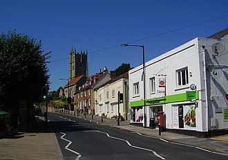 Carisbrooke - Image: High Street, Carisbrooke, Isle of Wight, UK