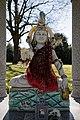 Hindu shrine to Shiva at City of London Cemetery and Crematorium ~ detail.jpg