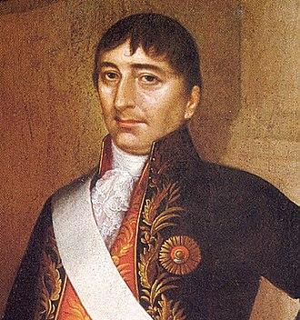 Hipólito Unanue - Portrait by José Gil de Castro