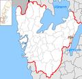 Hjo Municipality in Västra Götaland County.png