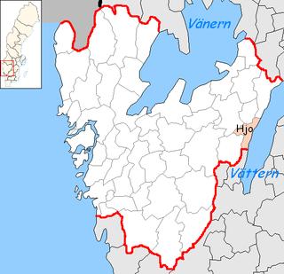 Hjo Municipality Municipality in Västra Götaland County, Sweden