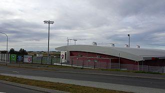 Hlíðarendi (stadium) - Hlíðarendi stadium in Reykjavík