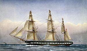 HHS Glasgow - HMS Glasgow was the inspiration for her Zanzibari namesake