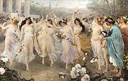 Floralia Romeins Feest Wikipedia