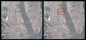 Weehawken Cove - Image of Weehawken Cove taken by NASA. (Image on the right with red line shows where it is.)