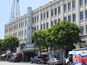 Hollywood Pacific Theatre - The Hollywood Pacific Theatre in 2010