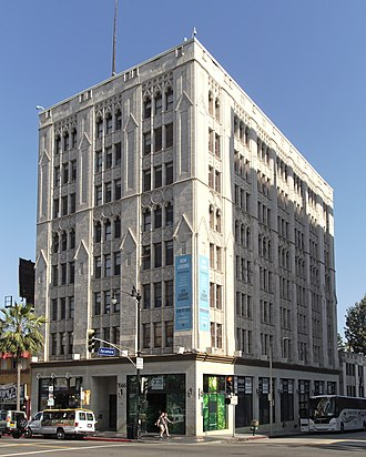 Screen Actors Guild - The Hollywood Professional Building housed SAG headquarters in the 1940s