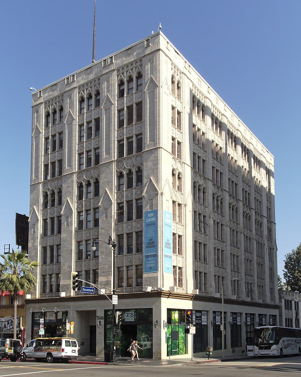 Hollywood Professional Building from northwest 2015-05-31