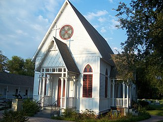 Fruitland Park, Florida - Holy Trinity Episcopal Church, on the National Register of Historic Places