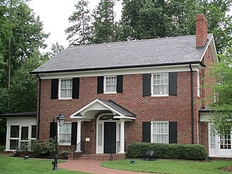 Billy Graham Library - The home of Morrow Coffey Graham, the mother of Billy Graham, has been preserved at the Graham Library