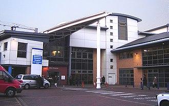 Homerton University Hospital - Main Entrance