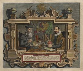 Frontispiece of the Atlas Maior of Mercator-Hondius, 1607