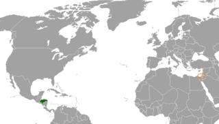 Honduras–Palestine relations