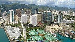 Honolulu State capital city in Hawaii, United States
