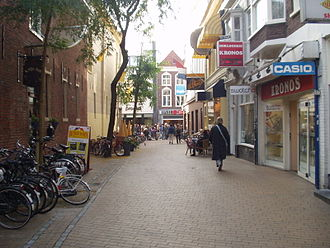 Hondsrug - The Hoogstraatje in Groningen, the northernmost hill of the Hondsrug