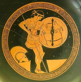 Hoplite - Hoplite, 5th century