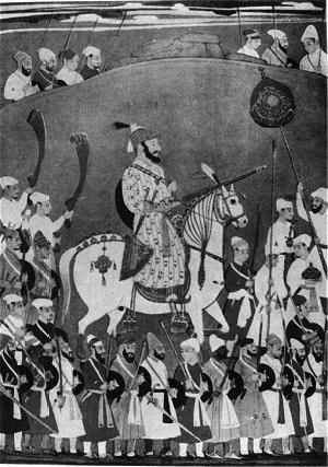 Horse Mounted Shivaji