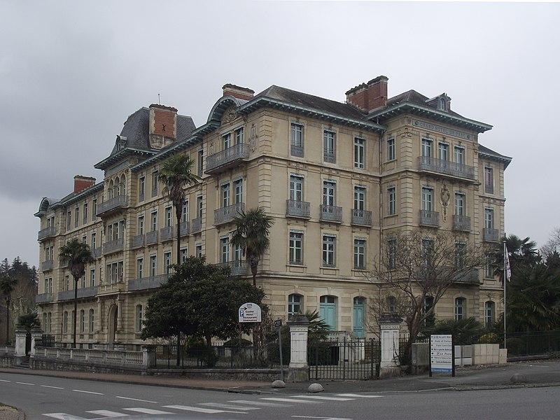 Hotel-casino du Parc (Salies-de-Béarn, Pyrénées-Atlantiques, France)