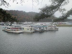Broken Bow Lake - Houseboats on Broken Bow Lake (2013)