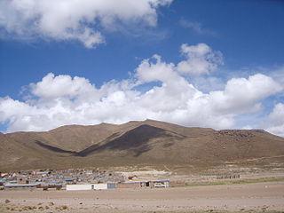 Pacha Qullu mountain in Bolivia
