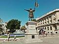 Huelva - Monumento a Cristóbal Colón en la Plaza de las monjas.jpg