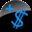 Human-emblem-sales-black-blue-128.png