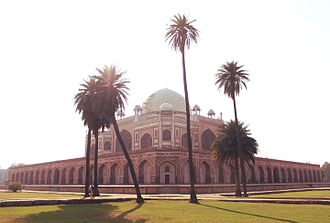 Humayun's Tomb - Image: Humayun's Tomb from the Charbagh 1
