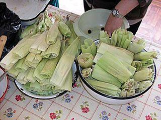 Humita Peruvian cuisine